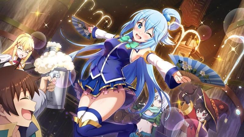 Аниме Богиня Благословляет Этот Прекрасный Мир 2 Сезон Все Серии OVA Анифильм Марафон