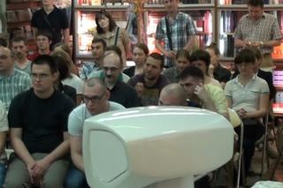 Первая встреча Меняйлова со зрителями