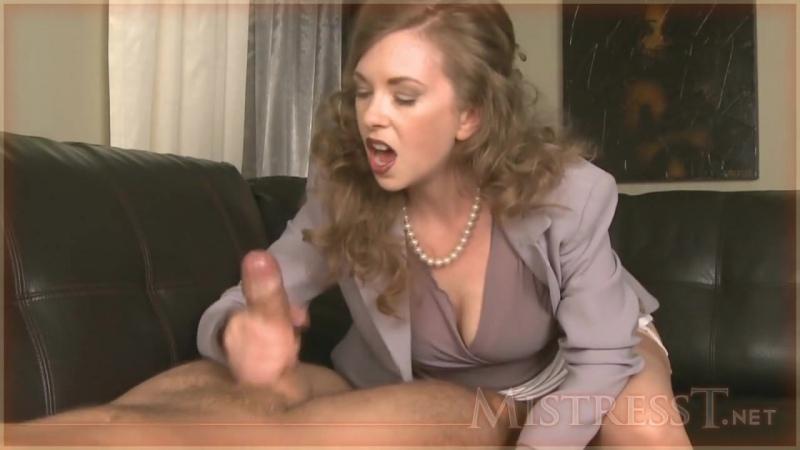 24 сцены камшотов от госпожи подборка (mistress, cfnm, handjob, cumshot,