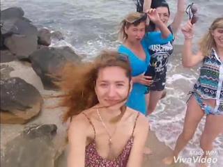 любимые девчушки на море ее