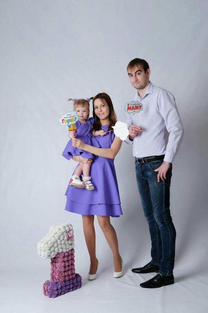 семья Агафоновых