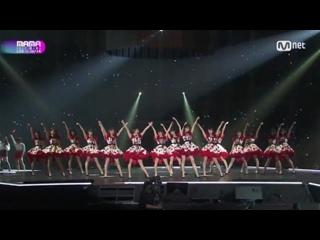 [Perf]  Pristin, Weki Meki, Chungha, Fromis_9, Idol School, AKB48 - Pick Me @ 2017 MAMA in Japan