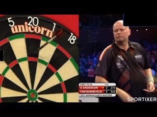 Raymond van Barneveld vs Gary Anderson (PDC German Darts Masters 2017 / Quarter Final)