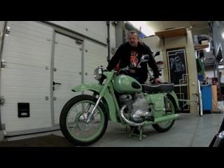 Мотоцикл ИЖ Планета Реставрация