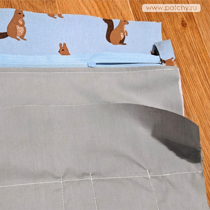 Сумка-органайзер для рукоделия, изображение №13