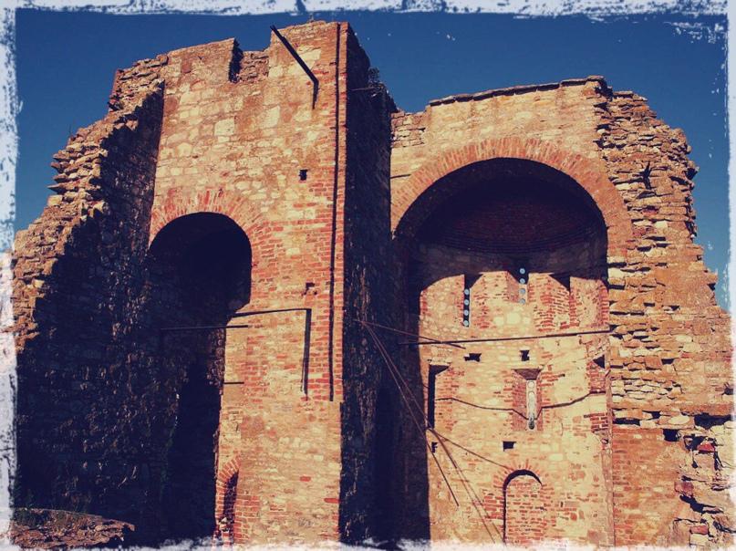 Современное состояние храма Благовещения на Городище
