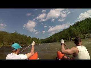 Река Ивдель (сплав, скалы) 25-26 июня 2018