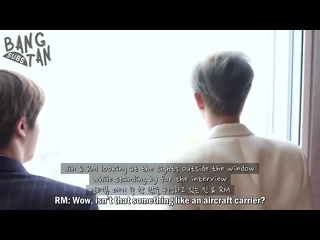[][ENG] 190304 [BANGTAN BOMB] Standing in front of the window - BTS (방탄소년단).mp4