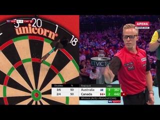Australia vs Canada (PDC World Cup of Darts 2019 / Round 2)