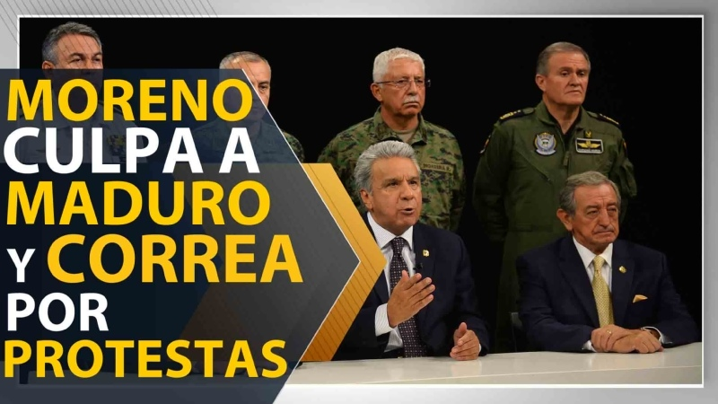 Moreno Maduro y Correa provocan un golpe de Estado en Ecuador