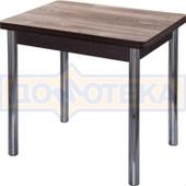 Кухонный стол из ЛДСП Дрезден М-2 ДТ/ВН (Дуб темный) 02