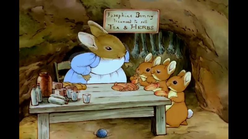 1 Мир Кролика Питера и его друзей Питер Пуш и Олли кролик