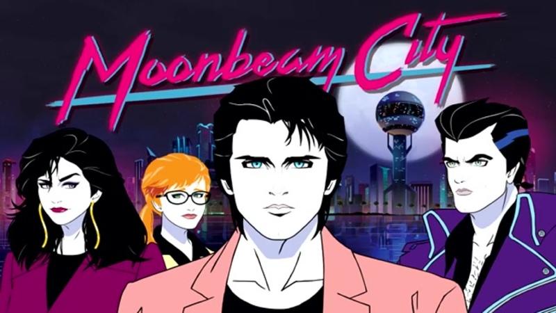 Night Club Skydancer Moonbeam City Soundtrack Город лунного луча