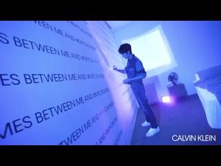 190807 EXO Lay Yixing @ Calvin Klein Weibo Update