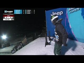 MEDAL RUNS_ The Real Cost Men's Snowboard Big Air _ X Games Aspen 2021