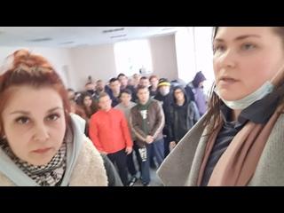 ВКолпинском УВД 37задержанных держат вотделе уже 19часов
