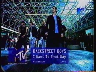 Backstreet Boys-I want it that way (MTV Russia, 2000)