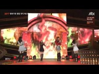 [vk] 171028 BLACKPINK - PLAYING WITH FIRE + AS IF IT'S YOUR LAST @ Pyeongchang Music Festa