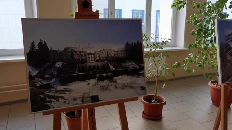Фрагмент экспозиции Связь Времен Блокада