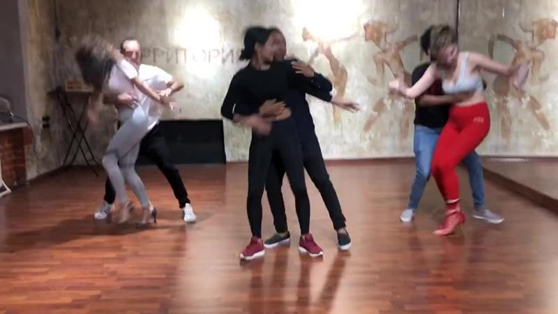 Bachata в школе танцев Wilkin dance
