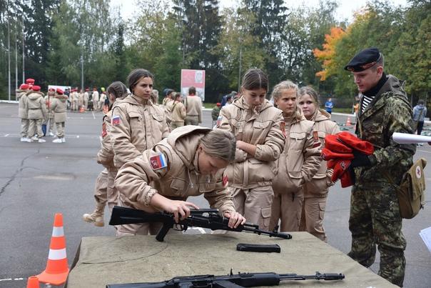 В субботу в Подольске прошла военно‑спортивная игр...