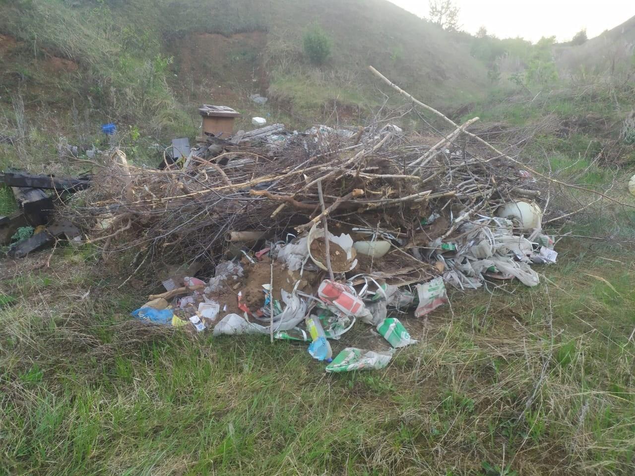 И снова плохая новость про мусорНеизвестные на