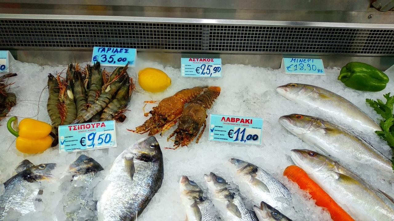 Продукты на Кипре