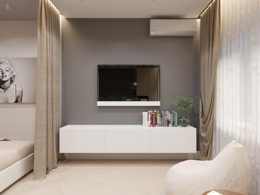 Дизайн-проект квартиры 48 кв.