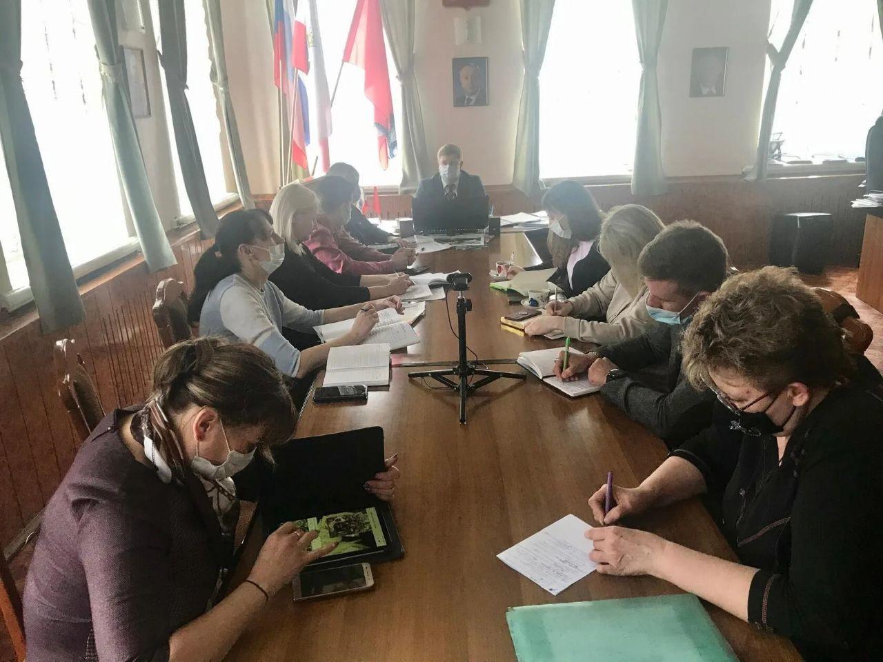 Состоялось организационное заседание проектного офиса при главе Петровского района