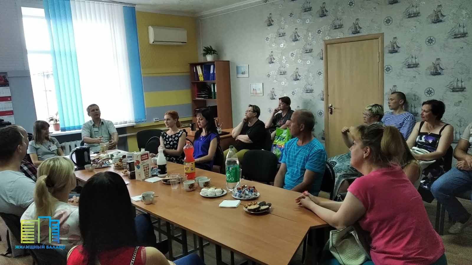 Фото с одной из предыдущих открытых встреч в Могилеве