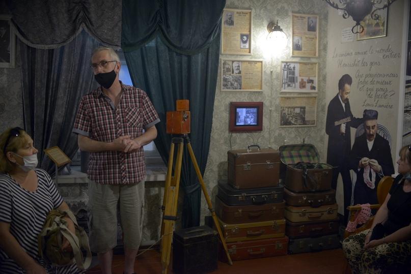 Экскурсия от создателя «Киномузея» Валерия Рубцова г.Великий Новгород