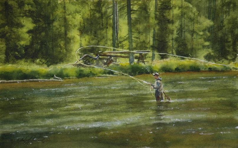 Американский художник-акварелист. Robert McFarland, изображение №14