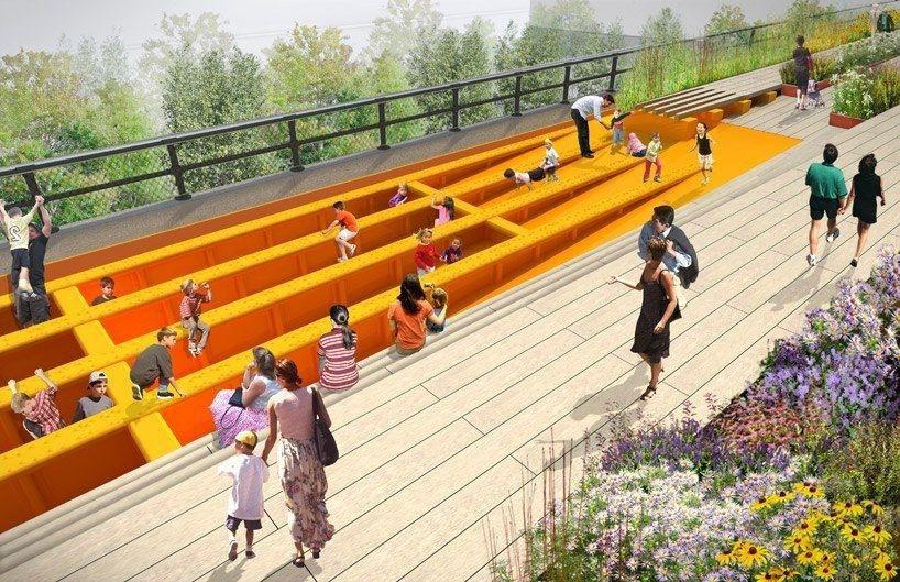 Хай-Лайн (The High Line) – парк на Манхэттене