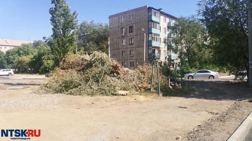 Ремонт дворов затянулся в Новотроицке