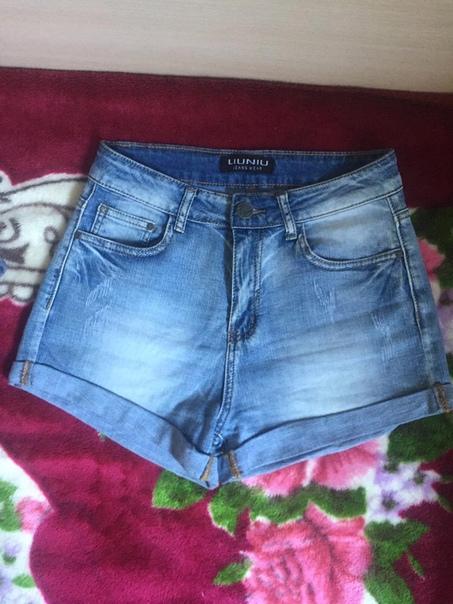Шорты джинсовые классические, размер 29, состояние...
