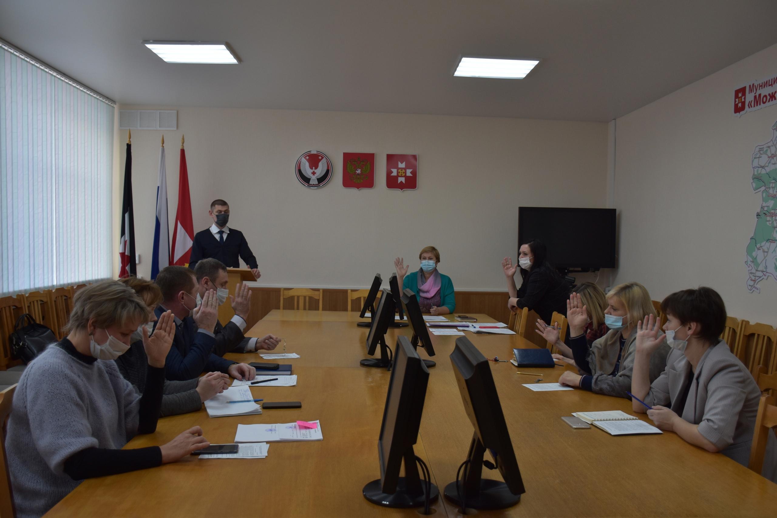 Сегодня состоялось заседание Комиссии по координации работы