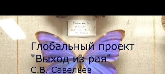 С.В. Савельев - Выход из рая