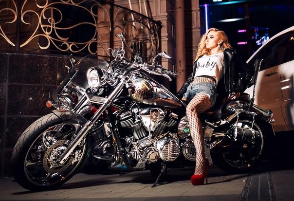 Фотосессия на мотоцикле москва девушка модель для работы и личной жизни