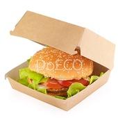 Короб под гамбургер ECO BURGER L 120x120х70