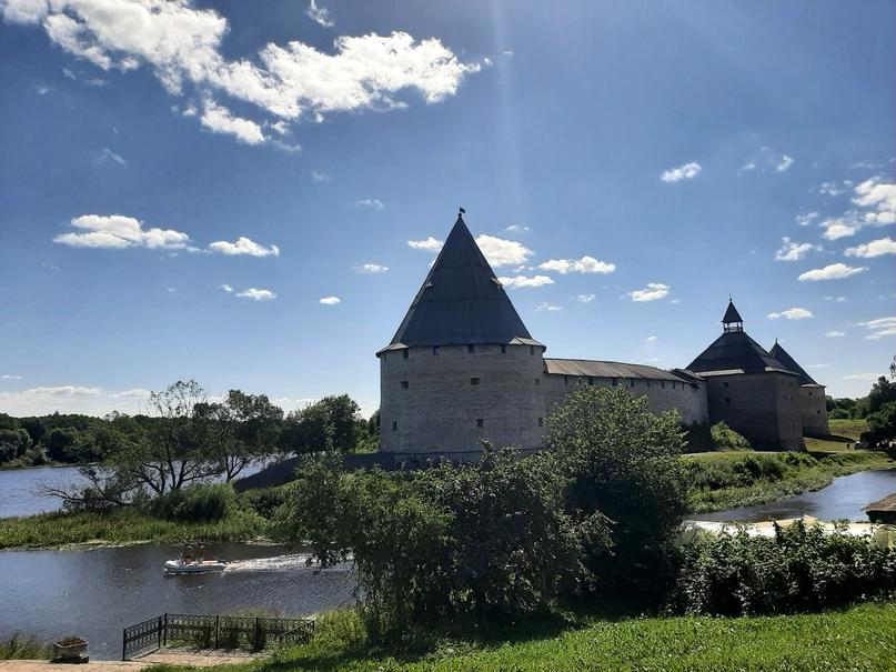 Старая Ладога. Вид на крепость