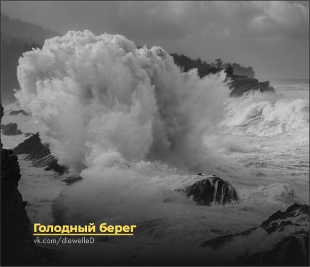 Голодный берег Тяжелые волны били вскипающую серым песком отмель. Они накатывали снова и снова, с каждой попыткой вливаясь все глубже в берег. Мелкие лужицы, оставляемые ими во впадинах дикого