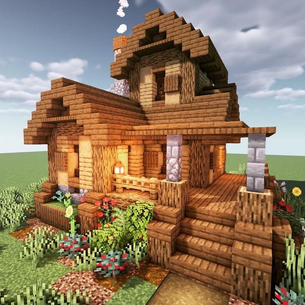 картинки красивых домов в майнкрафте #5