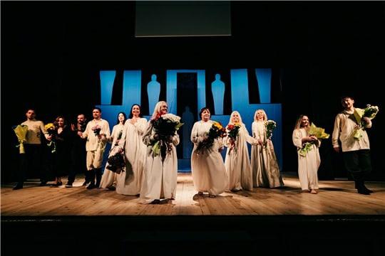 В Русском драматическом театре состоялась премьера...