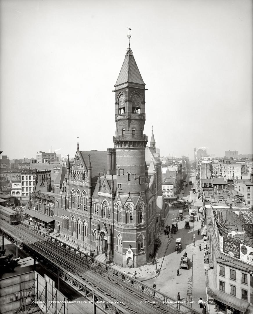 HD-фотографии городов США сделанные в 1900-1915 годах, изображение №17