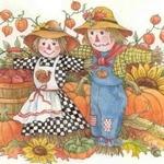 Пугало — короткие стихи про для детей
