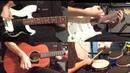 Кавер на песню Группа крови . Группы Кино . Гитары, бас, барабаны.