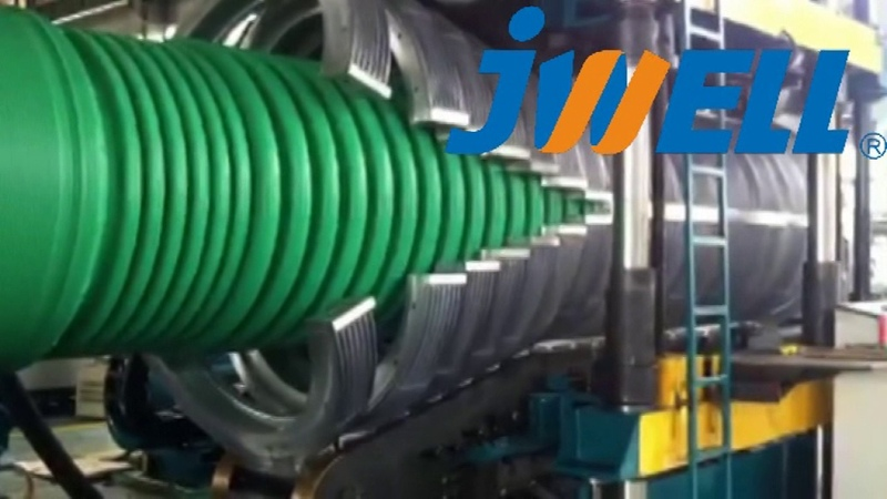 PE1200 Corrugated Pipe extrusion line-Email:salck@jwell.cn