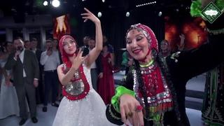 Башкирская свадьба в Москве. Танец невесты на подносе