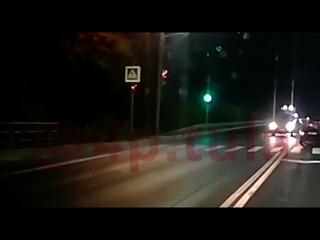 Момент ДТП на улице Рязанской в Туле попал на запись регистратора: виновник был пьян