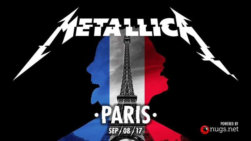 Metallica Live in Paris France September 8 2017